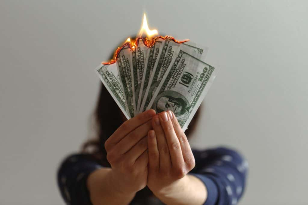 Lighting Money on Fire