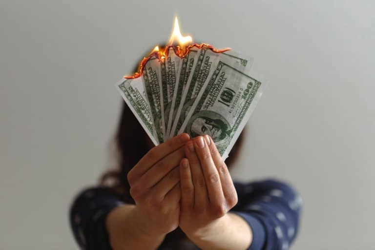 Lighting Money on Fire
