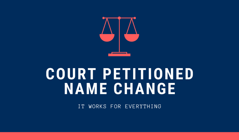 Court petitioned name change