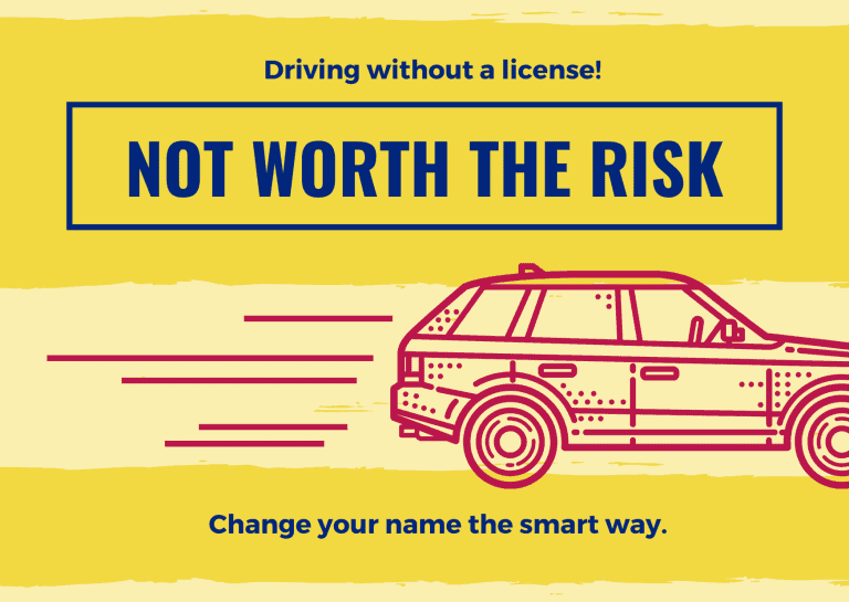 Driving without a license is not worth the risk