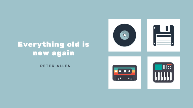 Peter Allen: 'Everything old is new again'