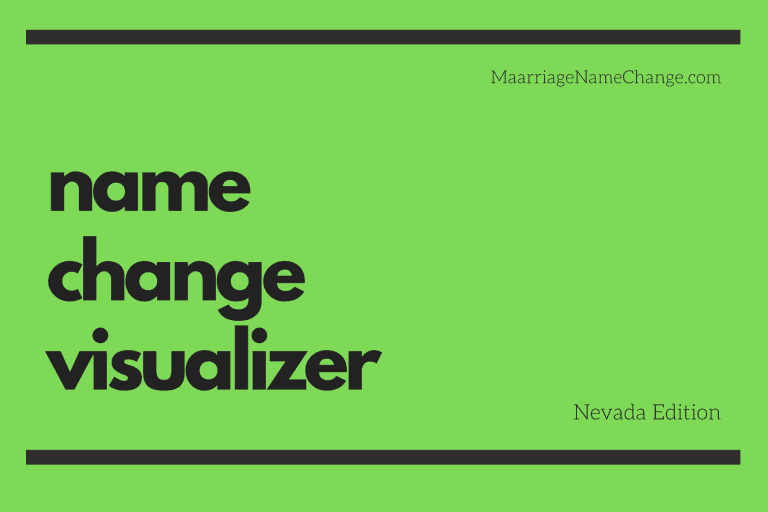 Nevada name change visualizer tool