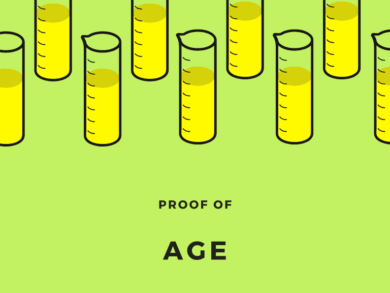 Proof of age