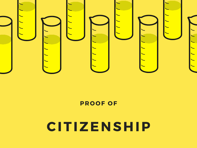 Proof of citizenship