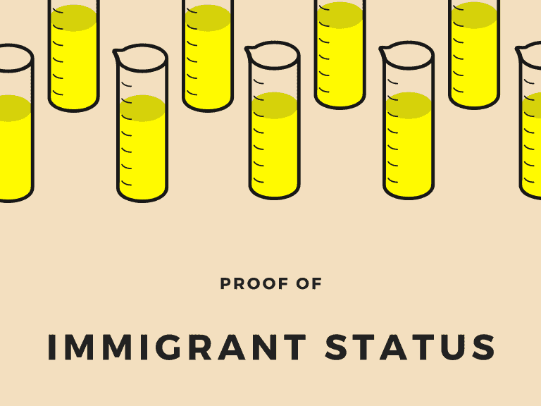 Proof of immigrant status
