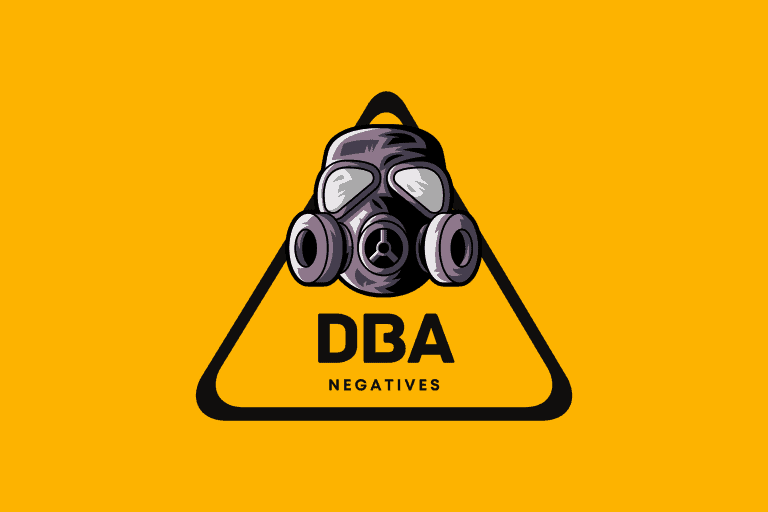 Doing Business As (DBA) negatives