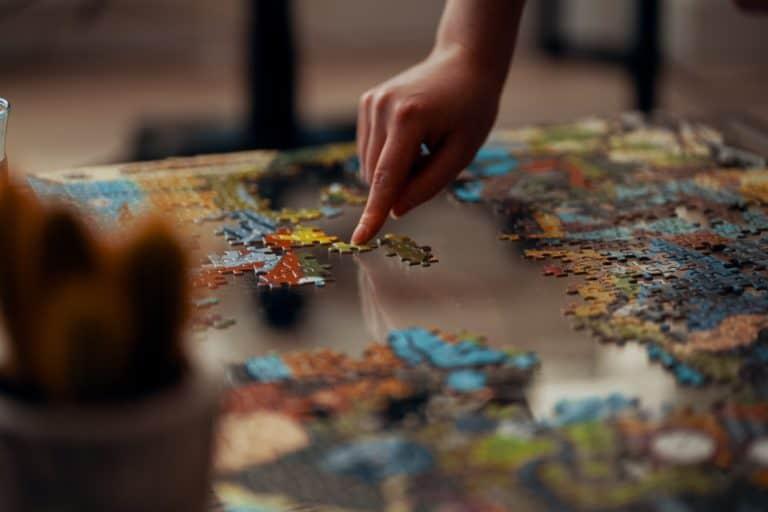Jigsaw Puzzle Symbolizing the Merging of Marital Finances
