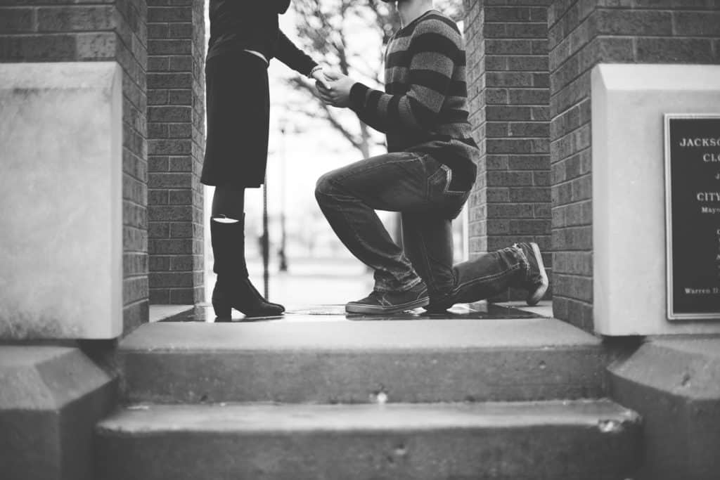 Man Proposing Marriage