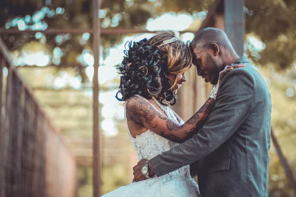 Married African-American Couple Photoshoot in Maryland