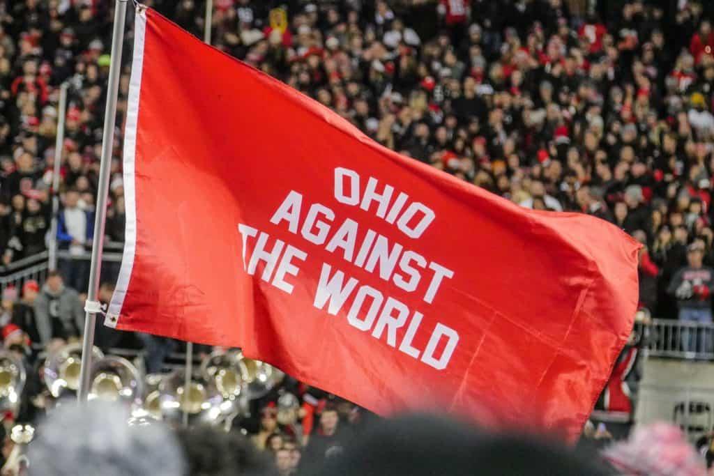 Ohio Against the World Flag