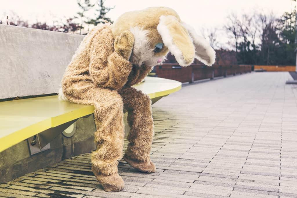 Sad Bunny Costume
