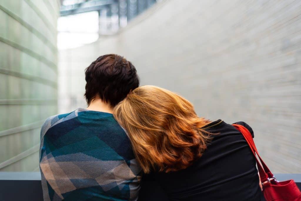 Sad Couple in Marital Trouble