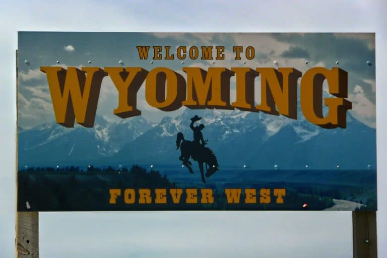 Welcome to Wyoming, Forever West Sign