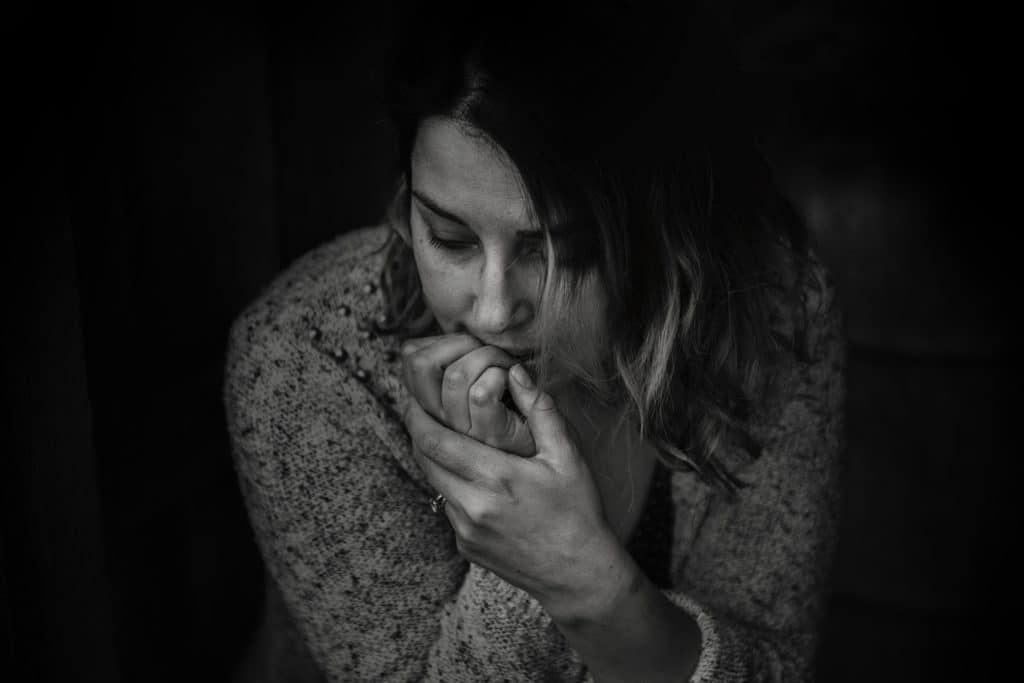 Woman Feeling Depressed After Marriage